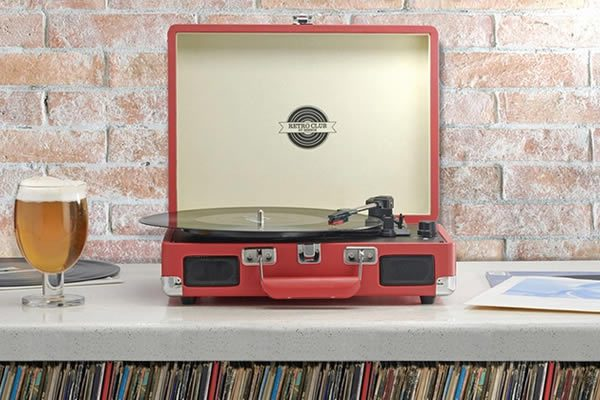 Turntable Record Player Briefcase