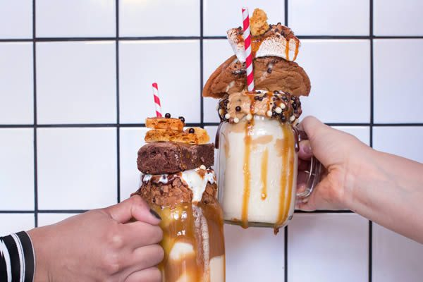 Freakshakes from Molly Bakes