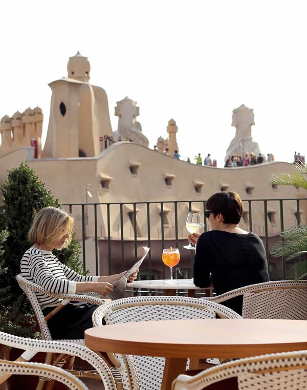 H10 casa mimosa barcelona la pedrera design hotel - H10 casa mimosa ...