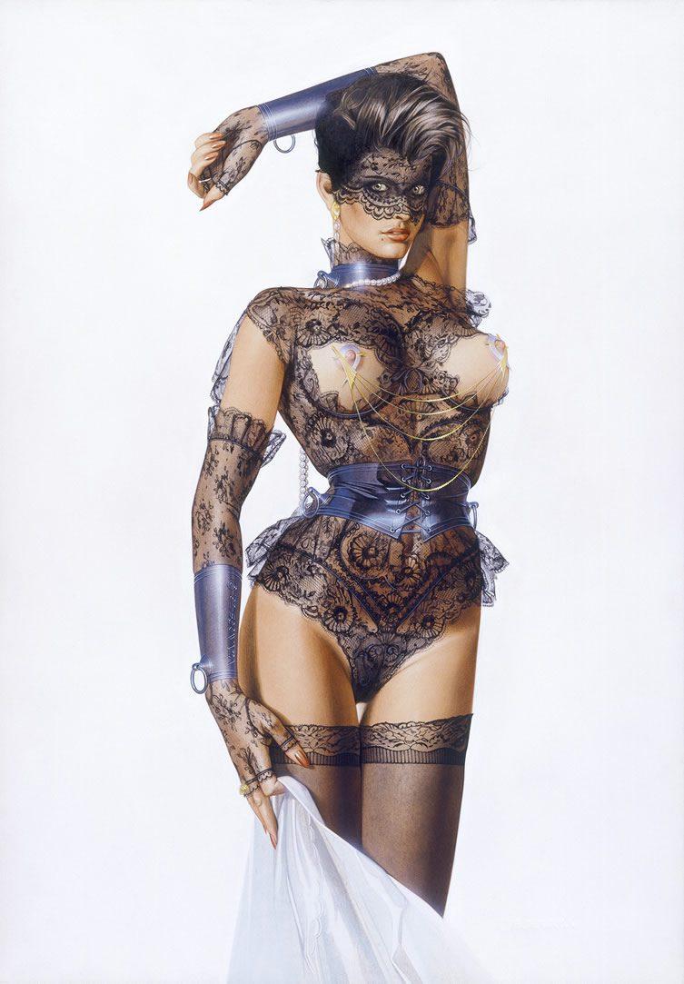 Hajime Sorayama erotica