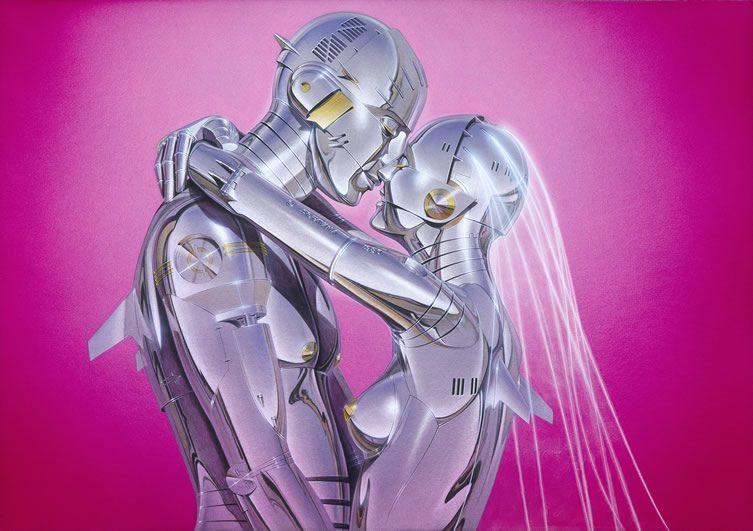 Hajime Sorayama robot