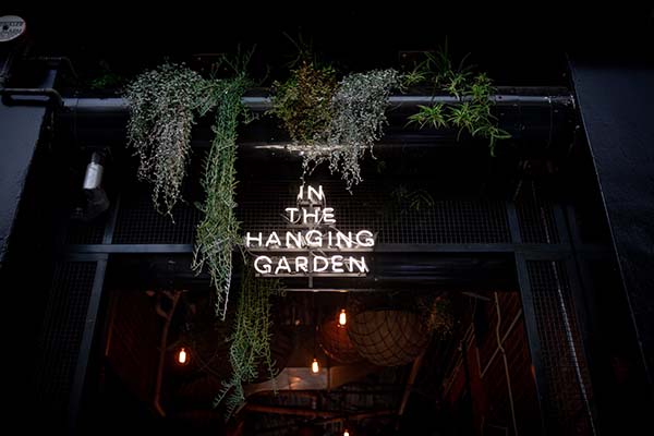 In The Hanging Garden Hobart Beer Garden and Outdoor Restaurant, Music Venue