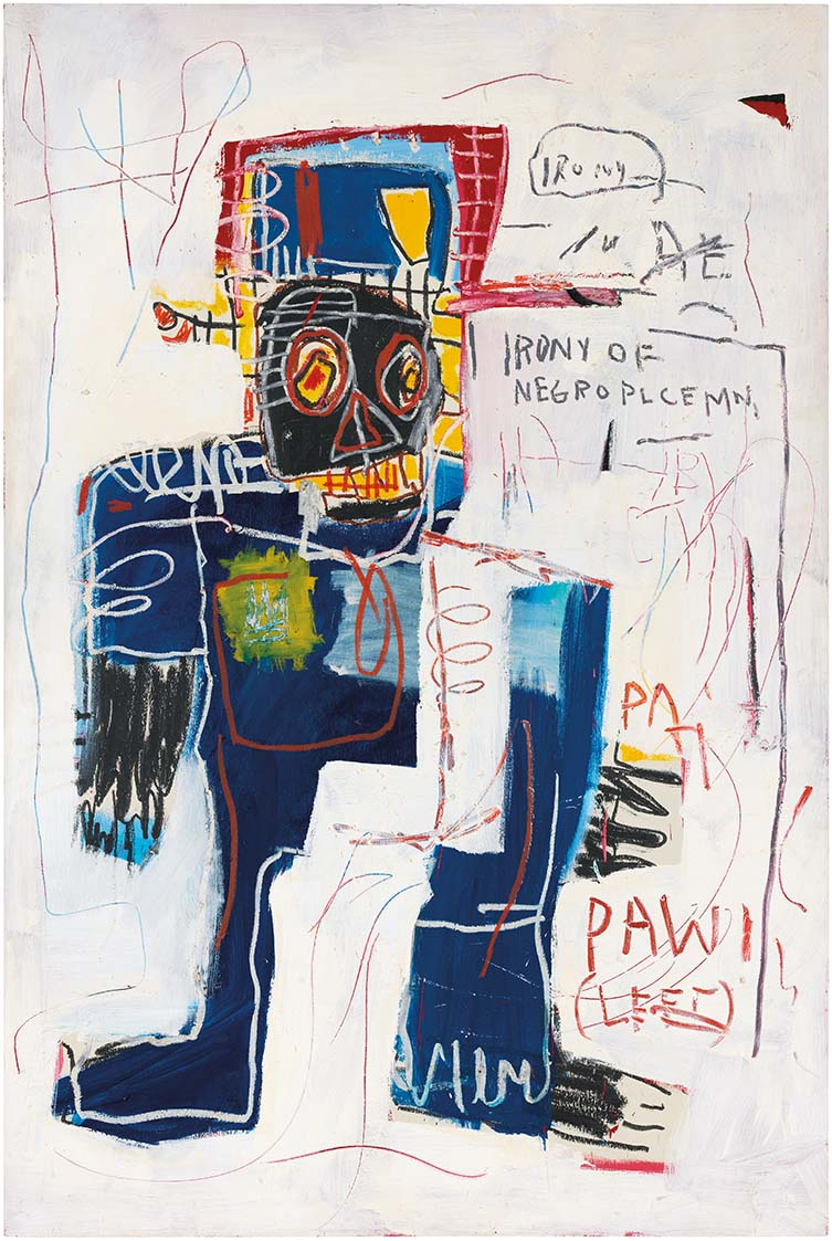 Jean-Michel Basquiat, Irony of a Negro Policeman