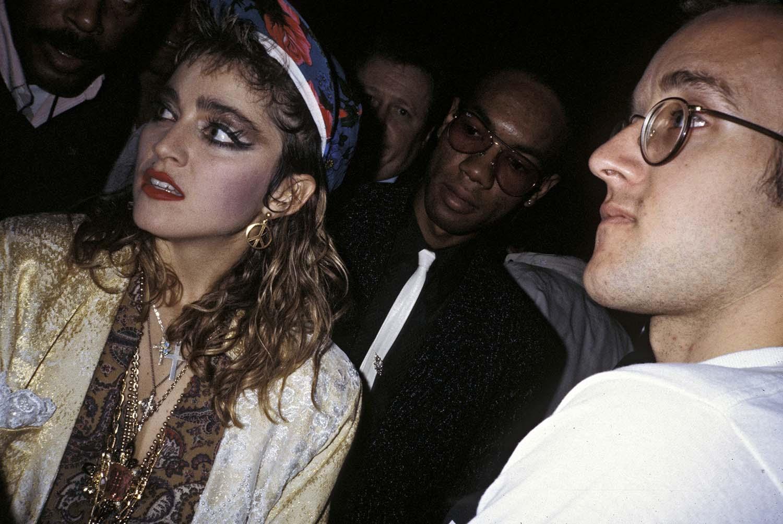 Madonna, Keith Haring, New York, 1985