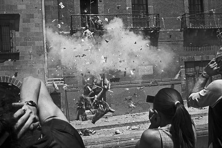 Explosion, San Miguel de Allende, 2008