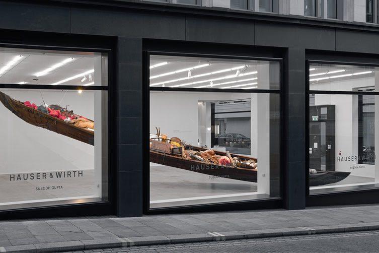 hauser wirth london art gallery