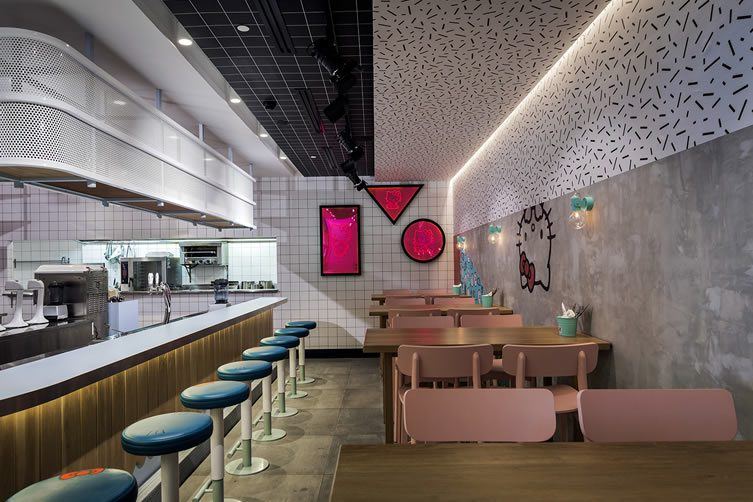 Hello Kitty Diner Introduces The Japanese Icon To Instagram Generation