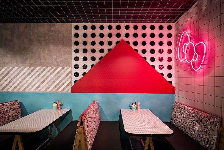 Hello Kitty Diner, Chatswood, Sydney