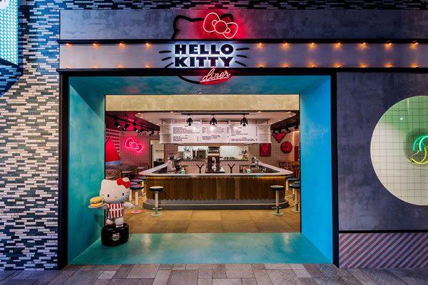 Hello Kitty Diner, Chatwsood, Sydney
