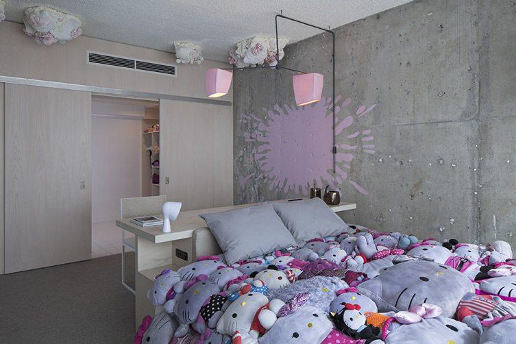 Hello Kitty Hotel Room Usa