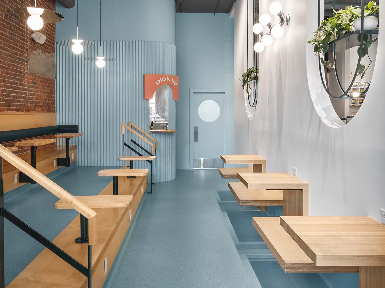 Hey Happy Victoria, BC, Café Designed by Bidgood + Co