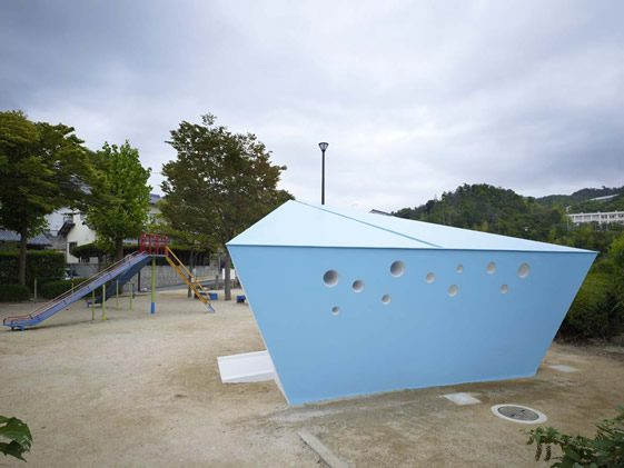 Hiroshima Park Restrooms, Future Studio