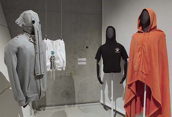 The Hoodie Exhibition at Het Nieuwe Instituut Rotterdam, Fashion and Art