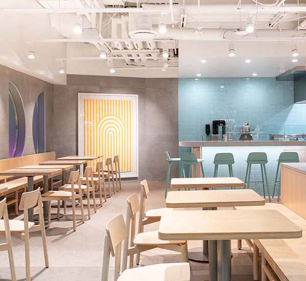 Hoopla Donuts Calgary, Donut Café Designed by Mckinley Burkart Architects for Phil & Sebastian