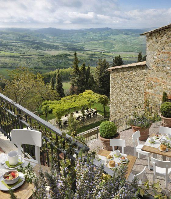 decordemon: MONTEVERDI HOTEL in TUSCANY,ITALY