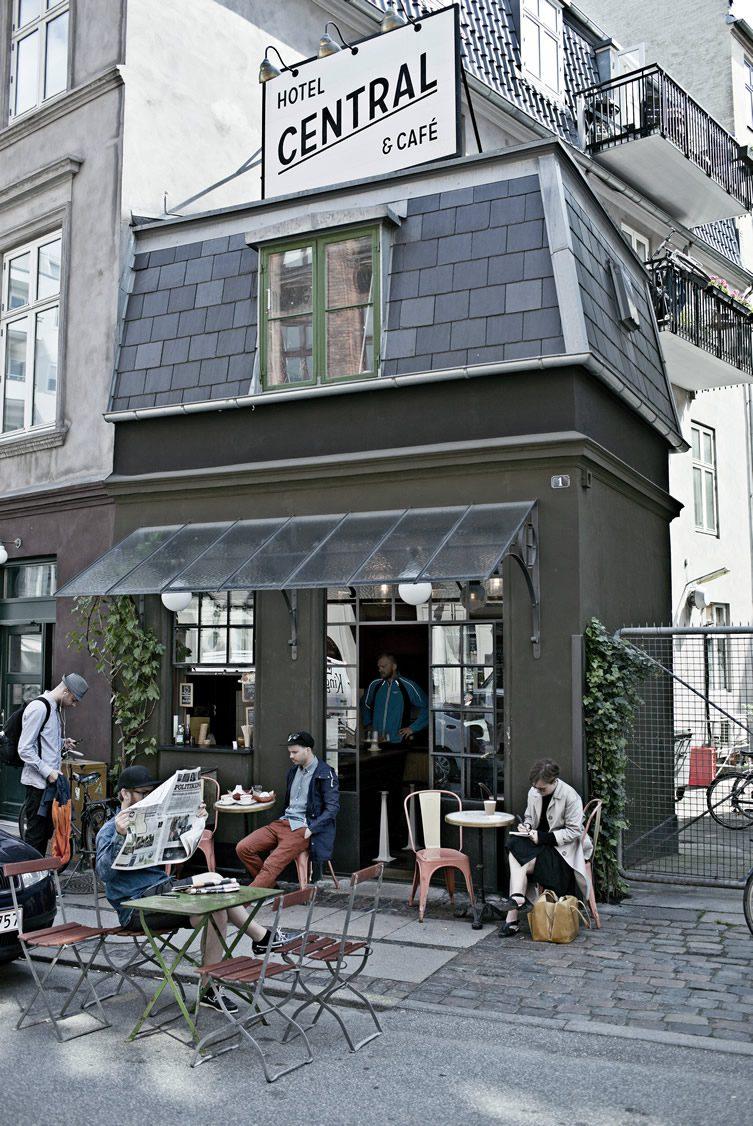Central Hotel & Café — Vesterbro, Copenhagen