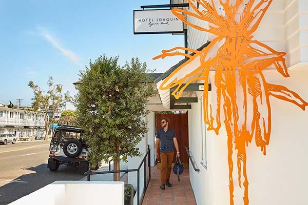 Hotel Joaquin Laguna Beach, Auric Road Design Motel in Orange County, California