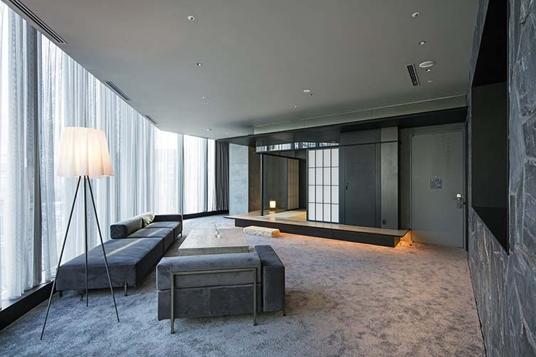 Hotel ko tokyo is a retail outlet and design hotel for Design hotel tokyo