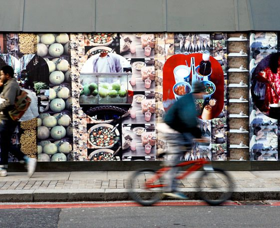 Hoxton Hoarding Project