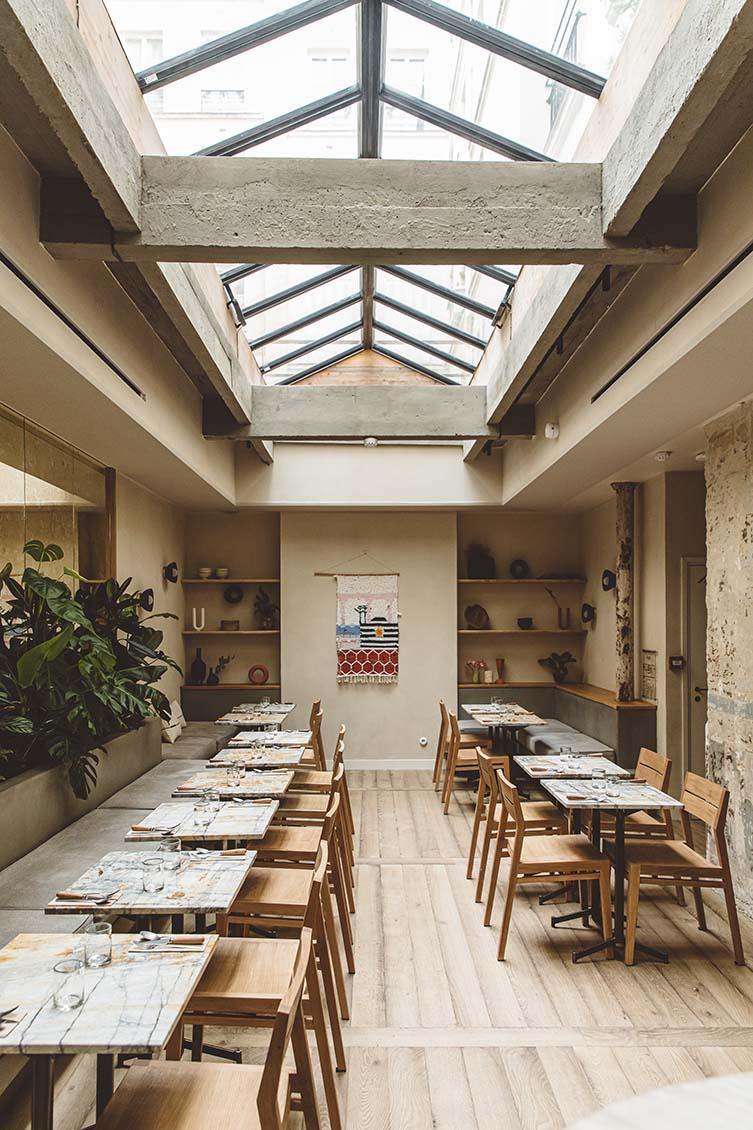 HOY Hotel Paris, MESA de HOY Plant-Based Restaurant Paris