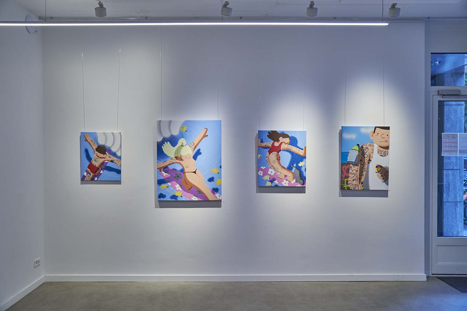 Imon Boy, There is always a plan B at Kolly Gallery Zürich