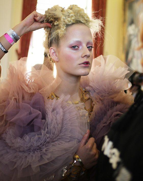 London Fashion Week; Inbar Spector