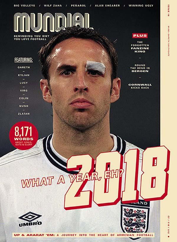 MUNDIAL, a quarterly football lifestyle magazine