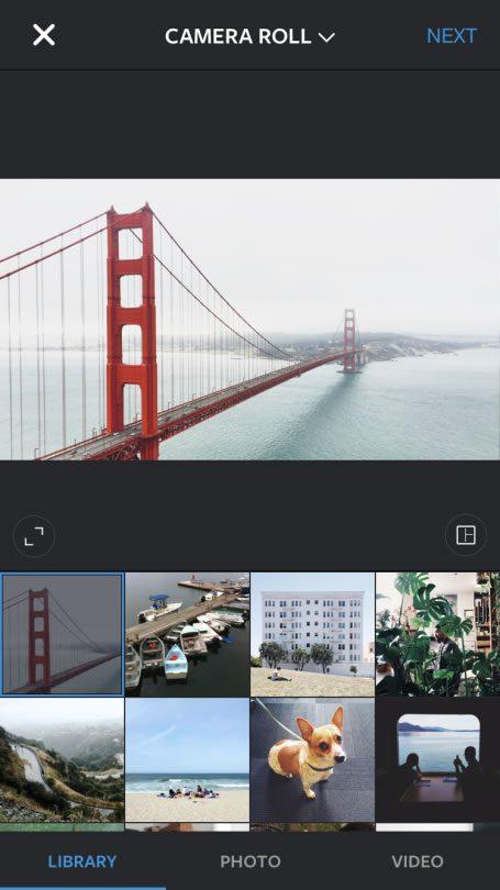 Instagram now allows landscape and portrait images
