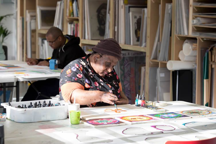 Intoart Peckham Levels, Visual Arts Charity Working With People With Learning Disabilities