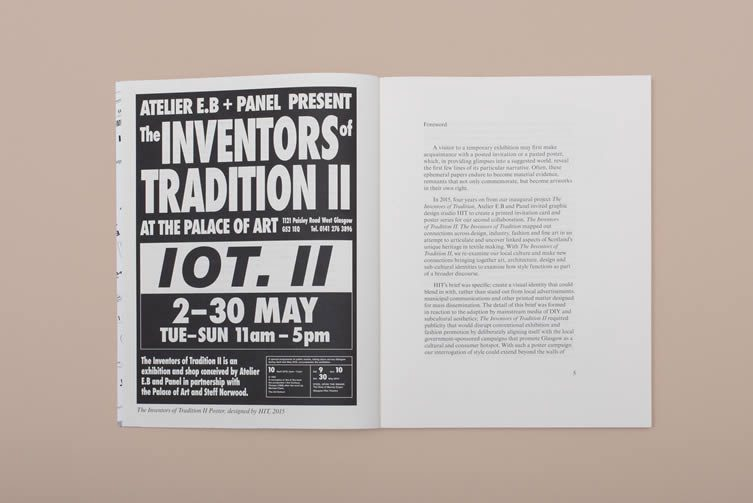 The Inventors of Tradition II by Lucy MacEachan and Catriona Duffy with Lucy McKenzie and designer Beca Lipscombe