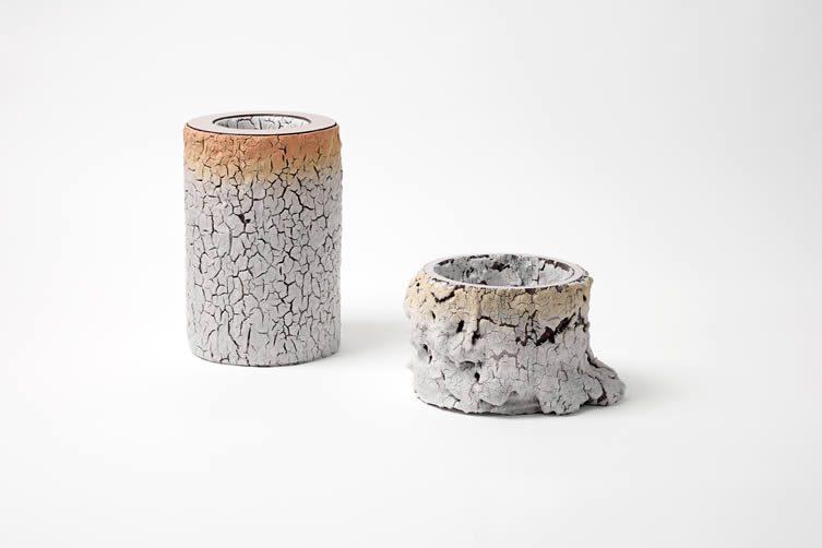 Irina Razumovskaya, BARKSKIN Ceramic Vessels