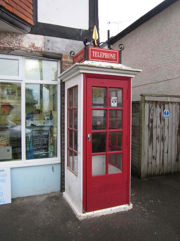 1921 K1 Phone Box, Bembridge High Street