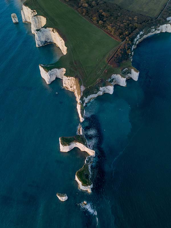Old Harry Rocks, the Isle of Purbeck. Photo, Dan Wilding