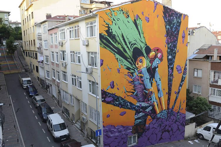 DEIH for the Mural Istanbul Street Art Festival