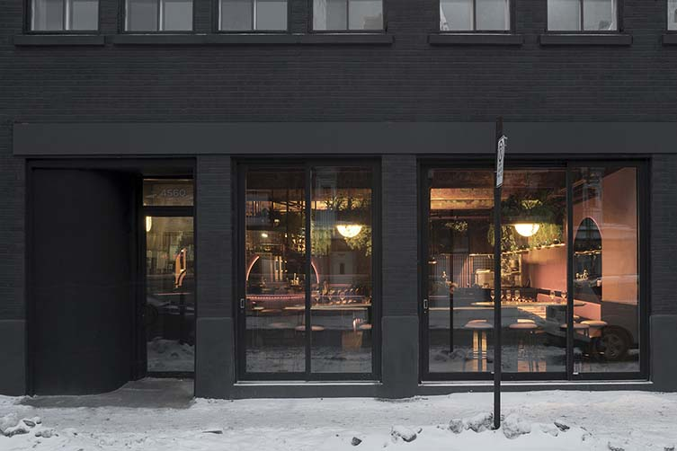 Jack Rose Montreal Mile End, Restaurant and Bar Designed by Ivy Studio