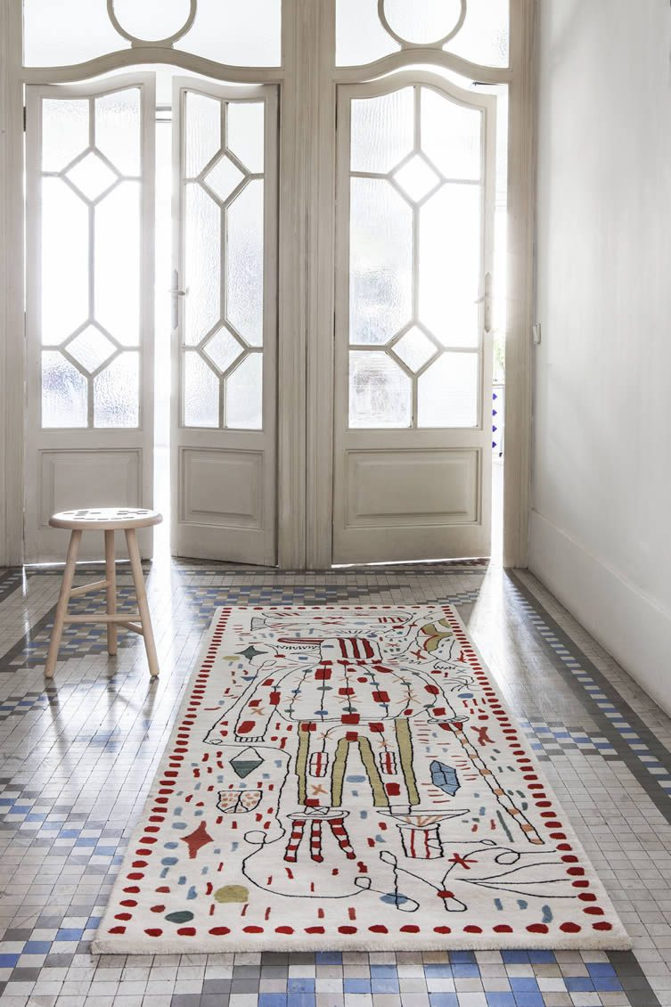 Jaime Hayon Rugs for nanimarquina