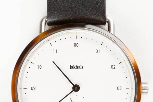 Jakhals Watches, Tortoise Shell Acetate Watch Designed in Antwerp
