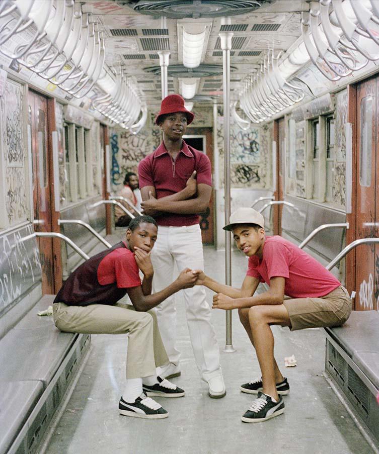 Jamel Shabazz, The Trio, NYC 1980