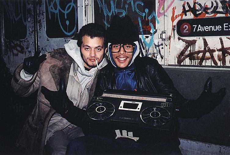 Jamel Shabazz, Untitled Subway series, Spanish Harlem, NY 1980
