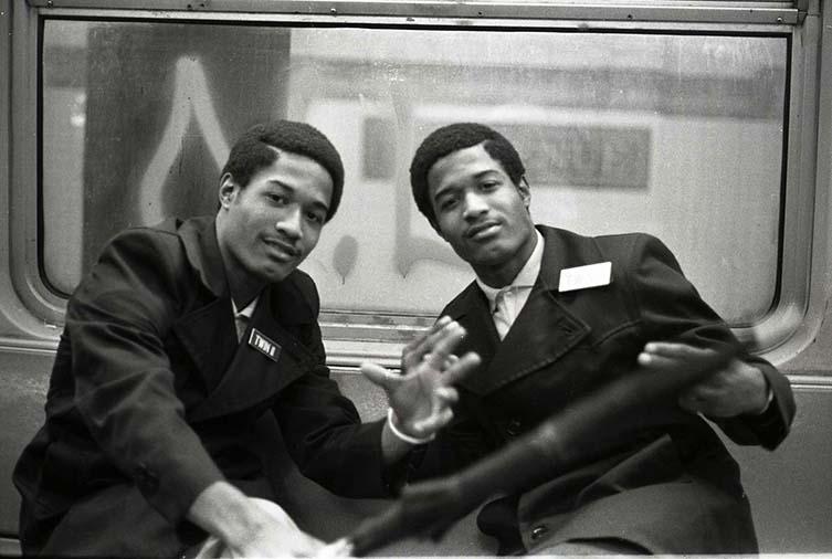 Jamel Shabazz, Twin 1 & Twin 2, Brooklyn, NYC 1980