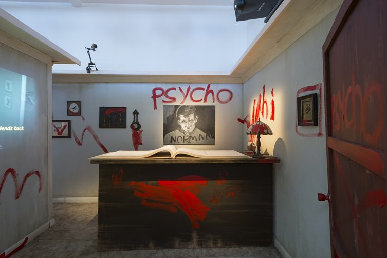 Psycho Nacirema, James Franco presented by Douglas Gordon