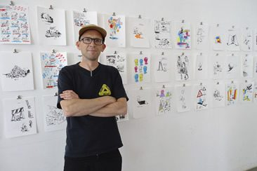 James Jarvis at Pictoplasma 2014