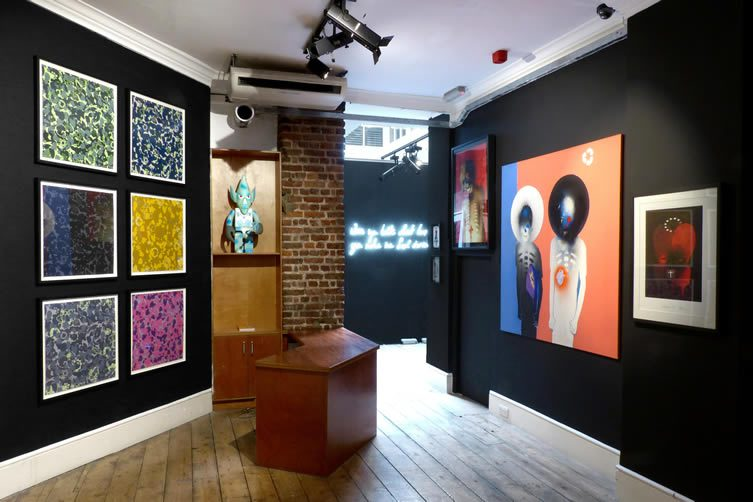 Daydreaming with UNKLE Exhibition at Lazarides Rathbone London
