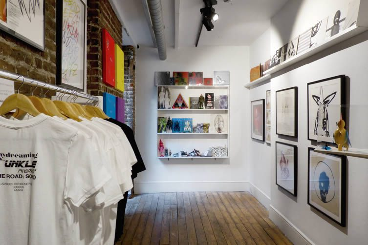 Daydreaming with UNKLE Presents... THE ROAD: SOHO at Lazarides Rathbone, London