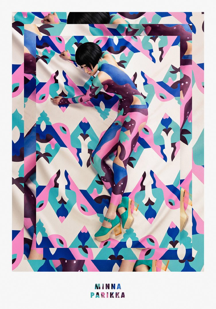 Janine Rewell x Minna Parikka — Body Painting and Scandinavian Spring