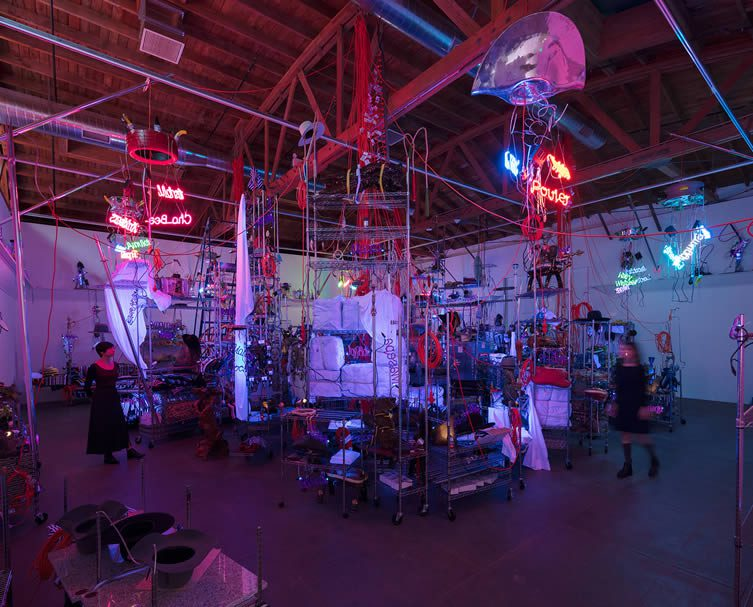 Jason Rhoades, The Black Pussy... and the Pagan Idol Workshop, 2005