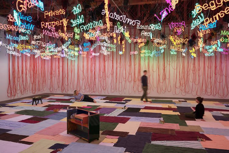 Jason Rhoades My Madinah. In pursuit of my ermitage...