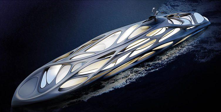 JAZZ Yacht —Zaha Hadid for Blohm+Voss