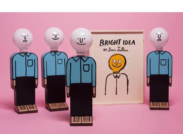 Jean Jullien x Case Studyo, Bright Idea