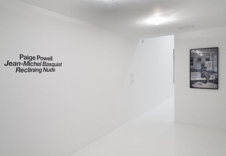 Paige Powell — Jean-Michel Basquiat Reclining Nude